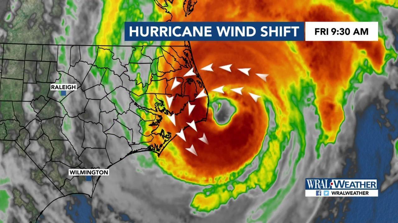 Hurricane Dorian flooded Ocracoke, battered Hatteras, but