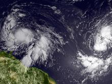 Current tropical storms tie hurricane season record