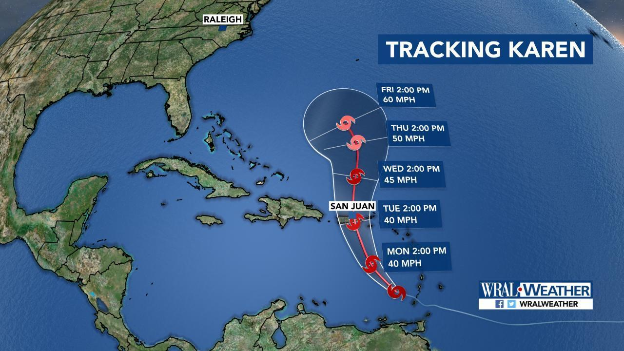 Three Tropical Systems Are Spinning In The Atlantic Wral Com