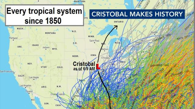 Cristobal makes history