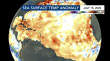 IMAGES: Warmer ocean temperatures making for an active hurricane season