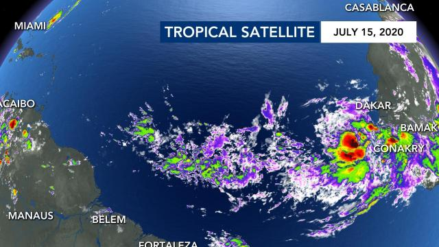 Tropical satellite for July 15, 2020