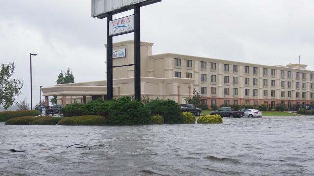 Hurricane Florence floods New Bern