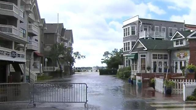 Flooding in Manteo