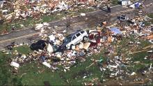 IMAGES: Storm damage in Bertie County neighborhood