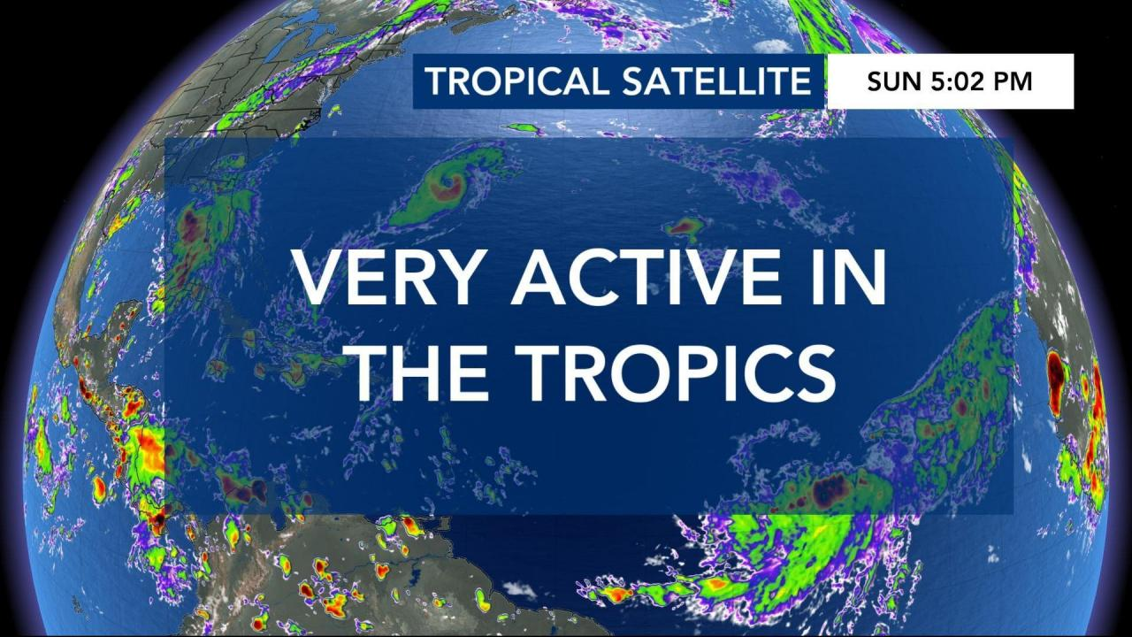 Wral Is Tracking 7 Tropical Systems Wral Com