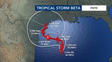IMAGES: Tropical Storm Beta forms in Gulf of Mexico, could impact Texas in coming days