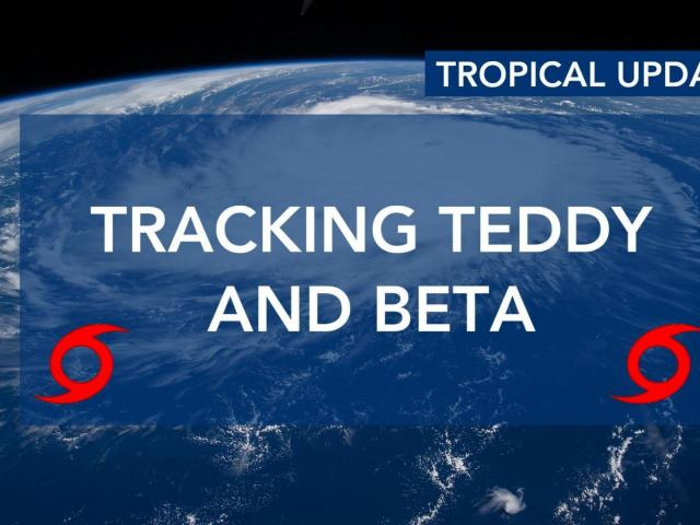 Two tropical systems could affect NC this week