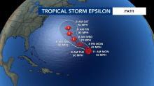 IMAGES: Epsilon strengthens into Cat. 1 hurricane; 26th named hurricane of the season