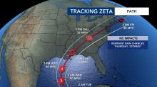 IMAGES: Tropical Storm Zeta forms, on path to approach Gulf Coast