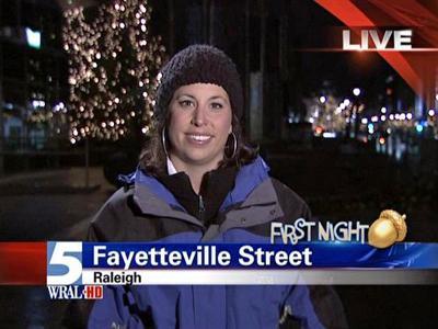 WRAL reporter Stacy Davis