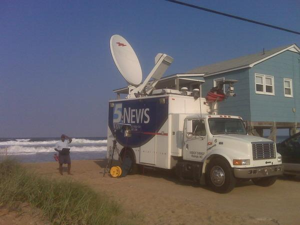 Camp Kitty Hawk... Back-up another 12 feet and and we'll call this truck The USS Unit 6