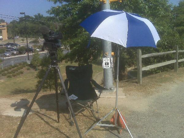 Umbrella.. Rocking Chair... Water... Book... STAKEOUT at Central Prison
