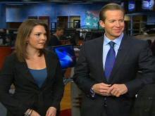 New Early Show anchors Chris Wragge and Erica Hill stopped byWRAL on Thursday, Dec. 16, 2010.