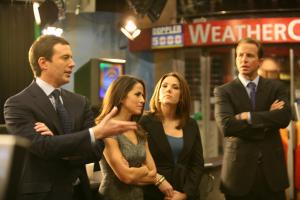 The new Early Show team – Chris Wragge, Erica Hill, Jeff Glor and Marysol Castro – came to WRAL's studios on Thursday, Dec. 16, 2010.
