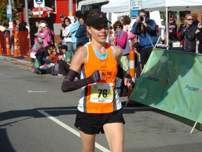 Kelcey Carlson, City of Oaks marathon