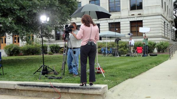 Behind the scenes at John Edwards' trial
