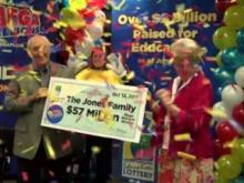James Jones won half of the Sept. 30 Mega Millions jackpot worth $114 million.
