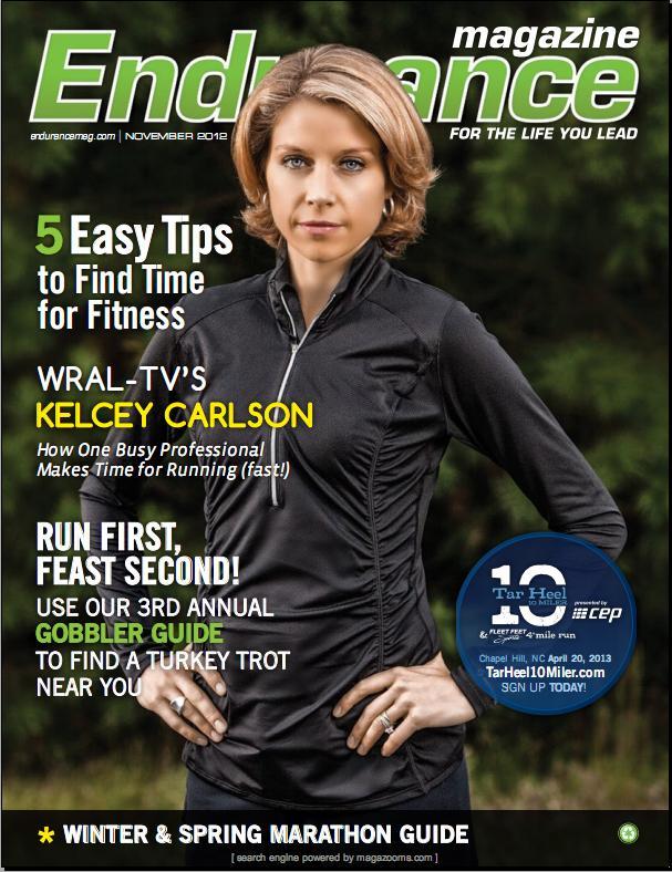 Kelcey Carlson in Endurance Magazine