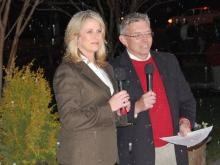 The holiday season officially began on Nov. 30, 2012, when WRAL-TV held its 53rd annual tower lighting.