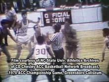 NC State's 1970 ACC tourney championship
