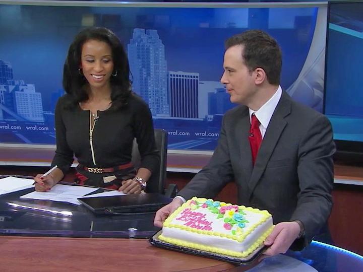 Michelle Marsh Gets Special Birthday Wish Wralcom