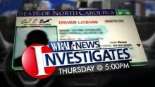 IMAGE: WRAL Investigates: Restricted licenses
