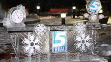 IMAGES: WRAL debuts ice desk