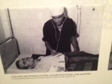 A photograph of an injured John McCain in Vietnam. (Photo courtesy of Clarence Williams)