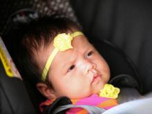 Renee Chou, baby Elsa visit WRAL