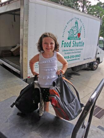 Backpack Buddies provides children from food-insecure homes with weekend meals during the school year.
