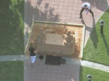 Shrader, Gardner hold water fight at Sand Desk