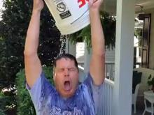 Douse yourself and raise money and awareness for ALS -- that's the #IceBucketChallenge and Jeff Gravley is all in.
