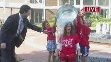Lynda Loveland: Ice Bucket Challenge