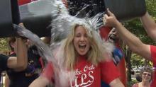 Debra Morgan takes Ice Bucket Challenge