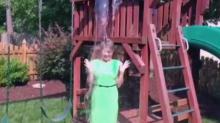 Sloane Heffernan takes Ice Bucket Challenge