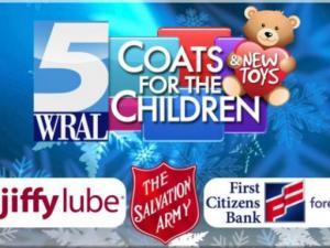 Coats for the Children web header