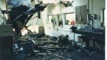 IMAGES: Inside WRAL: The day the broadcast tower fell