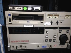 Over the years, videotapes and their players have become more compact.