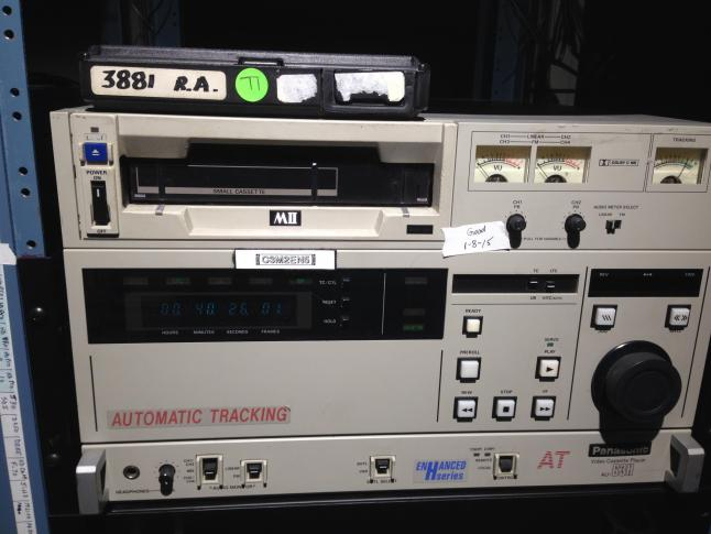 From the WRAL archives: TV video evolves from film to tape to file :: WRAL.com