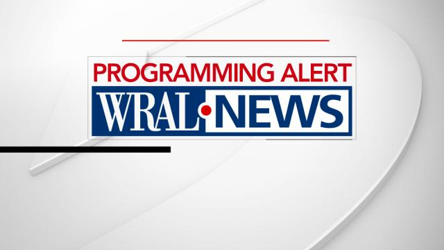 Programming Alert for WRAL-TV