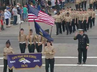 2015 Fayetteville Veterans Day parade