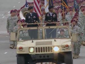 2015 Fayetteville Veterans Day parade