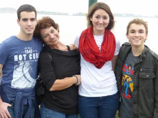 The Cordes family has welcomed students from all over the world into their home on exchange programs.