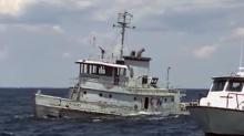 RAW: Tugboat goes under to create reef