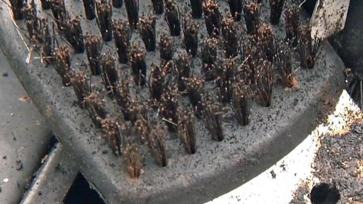 As grilling season heats up, doctors issue warning about metal grill brushes