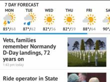 Virtual tour: WRAL News app for mobile, tablet devices