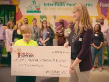 'Food Drive Kid' rasies funds for less fortunate peers