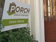 Porch Food Drive