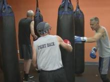 Parkinson's patients fight back with boxing workouts